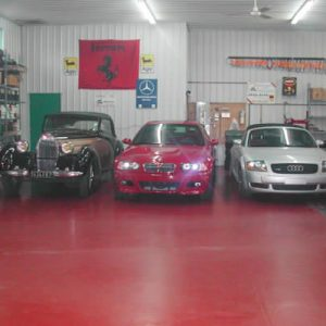 garage automobile